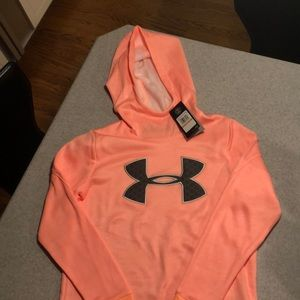 ADORABLE NWT Under Armour ColdGear Hoodie Sz Small